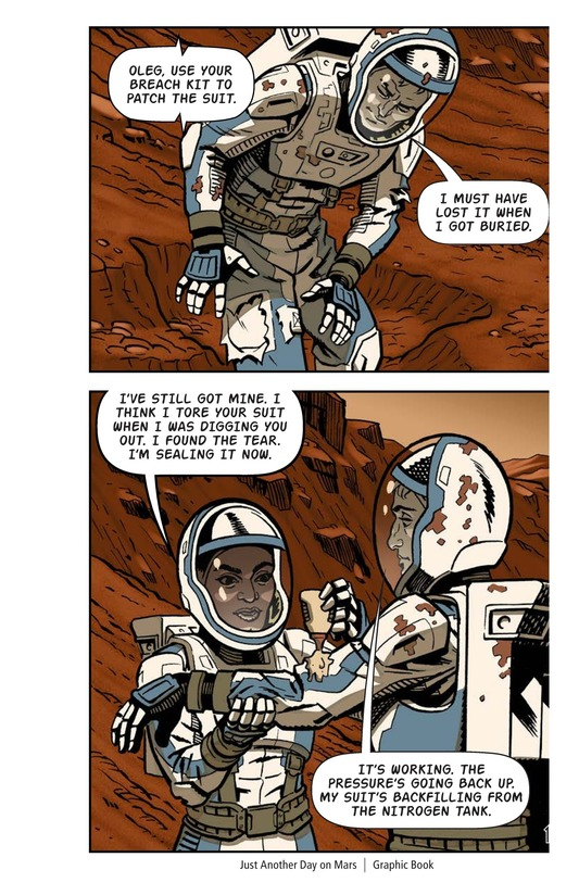 Book Preview For Just Another Day on Mars Page 13