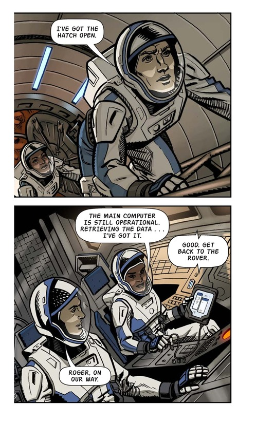 Book Preview For Just Another Day on Mars Page 8