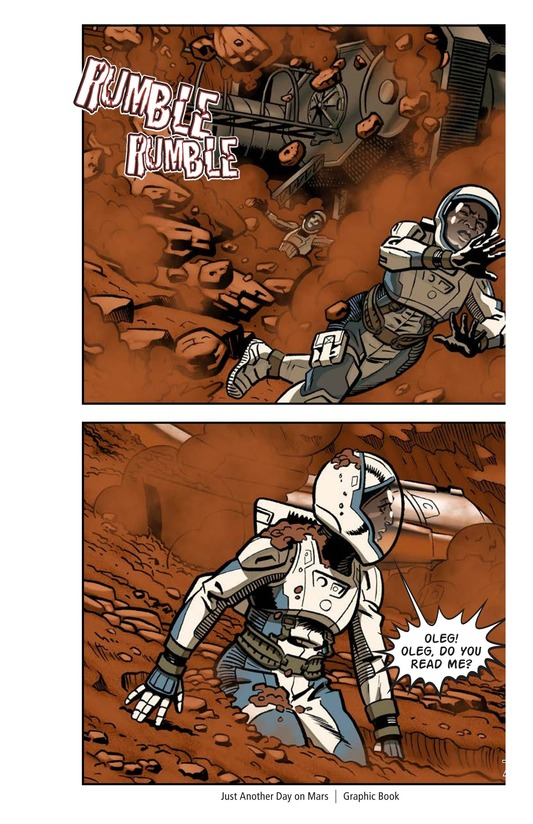 Book Preview For Just Another Day on Mars Page 9