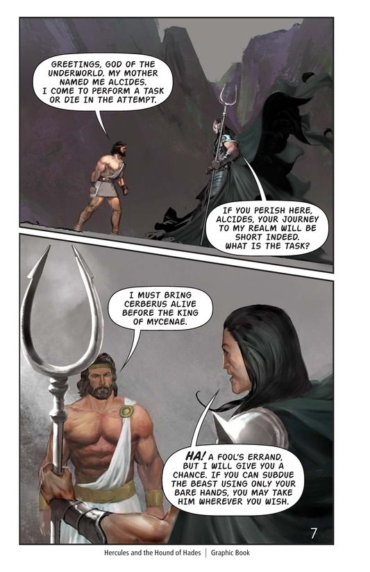 Book Preview For Hercules and the Hound of Hades Page 8