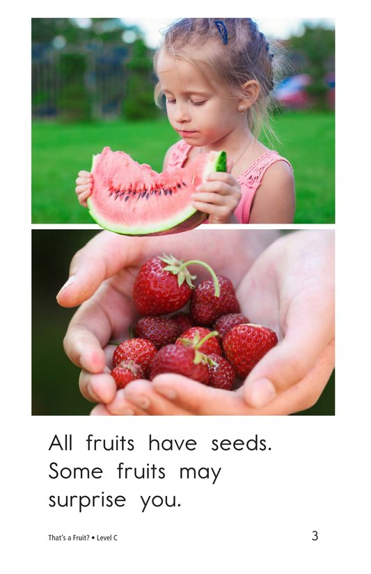 Book Preview For That's a Fruit? Page 3