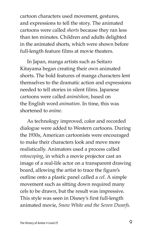 Book Preview For The History of Anime Page 9