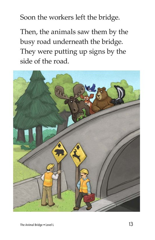 Book Preview For The Animal Bridge Page 13