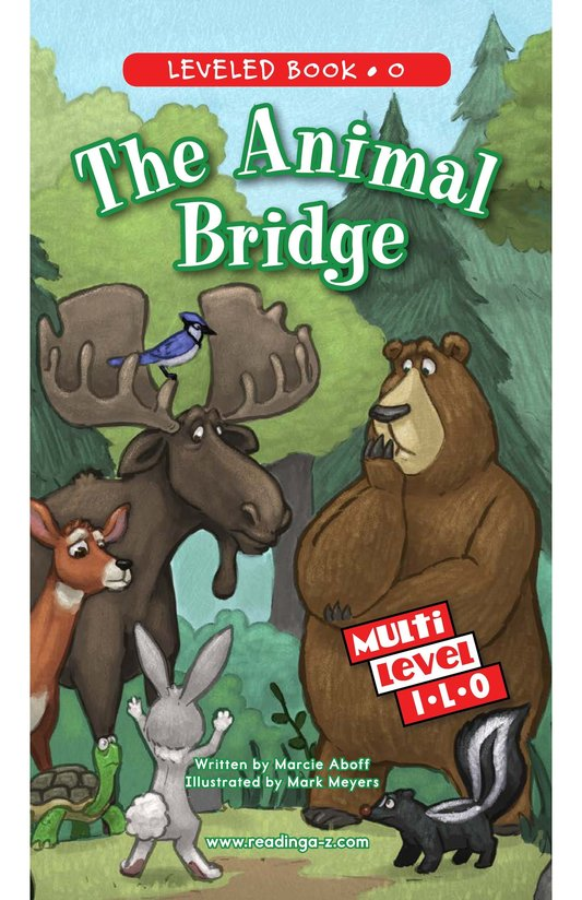 Book Preview For The Animal Bridge Page 0