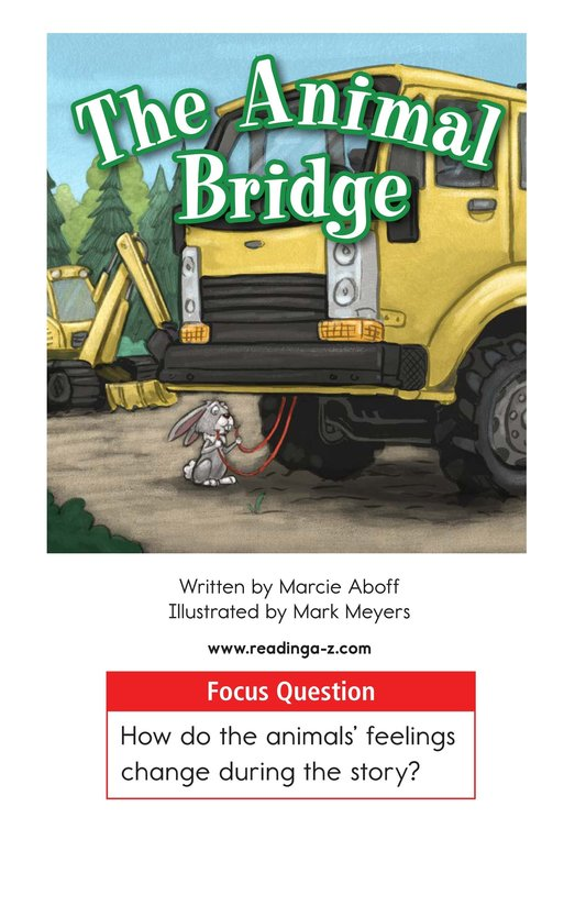 Book Preview For The Animal Bridge Page 1