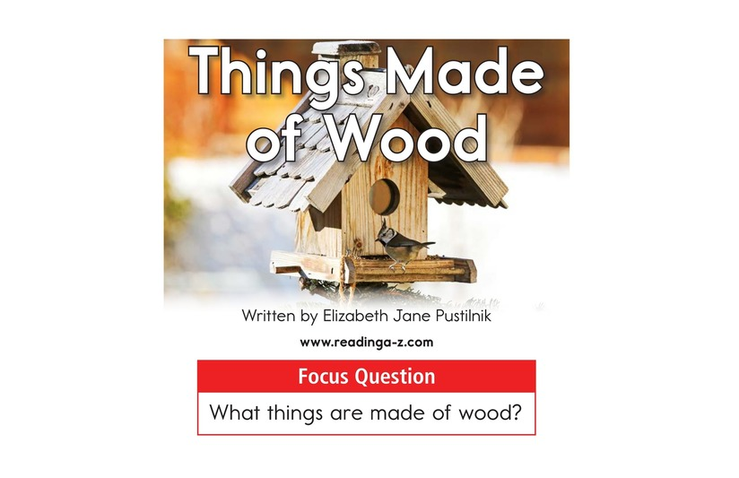 Book Preview For Things Made of Wood Page 1