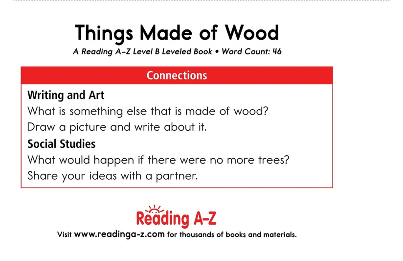 Book Preview For Things Made of Wood Page 11