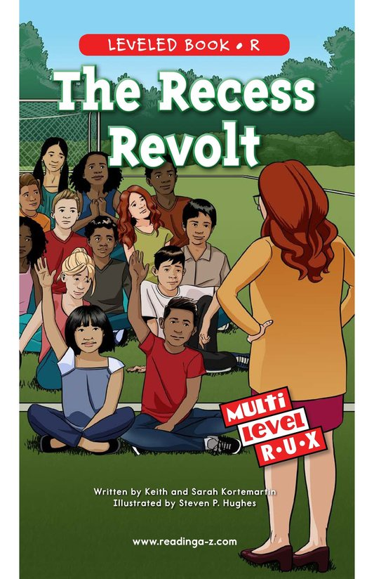 Book Preview For The Recess Revolt Page 0