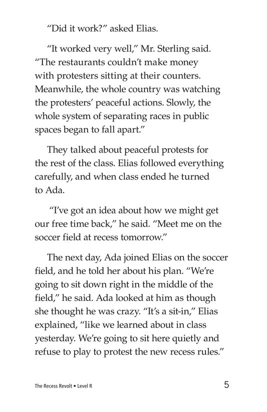 Book Preview For The Recess Revolt Page 5