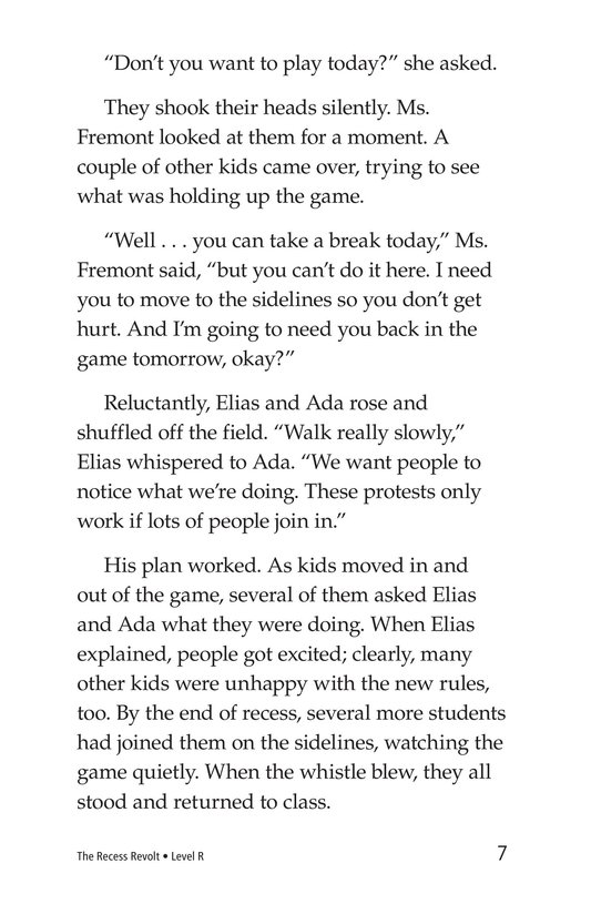 Book Preview For The Recess Revolt Page 7