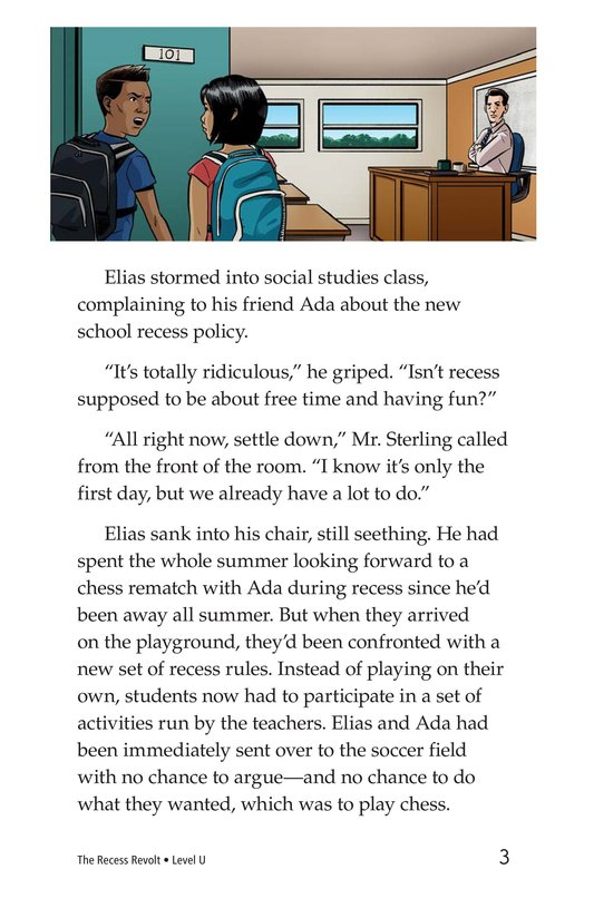 Book Preview For The Recess Revolt Page 3