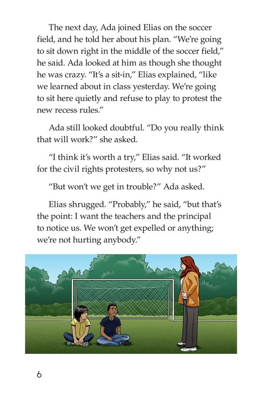 Book Preview For The Recess Revolt Page 6