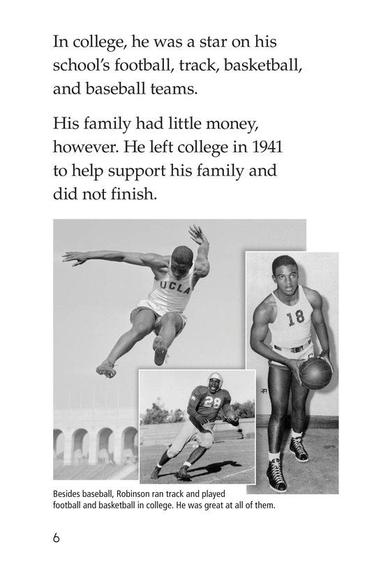 Book Preview For Jackie Robinson Page 6