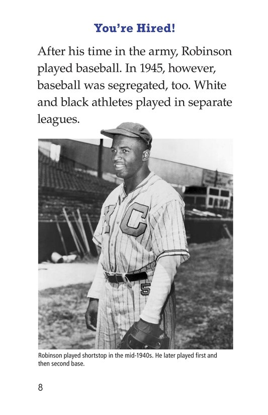 Book Preview For Jackie Robinson Page 8