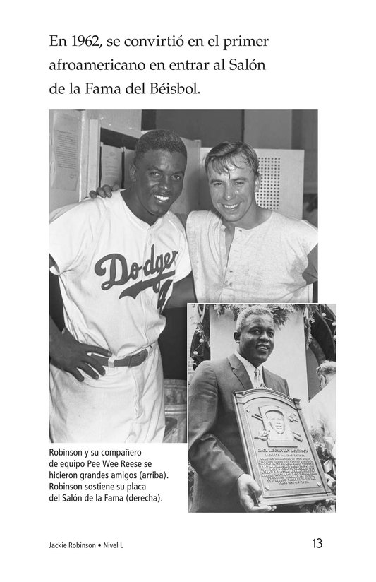 Book Preview For Jackie Robinson Page 13