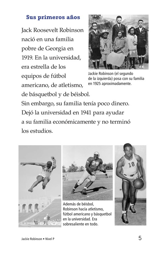 Book Preview For Jackie Robinson Page 5