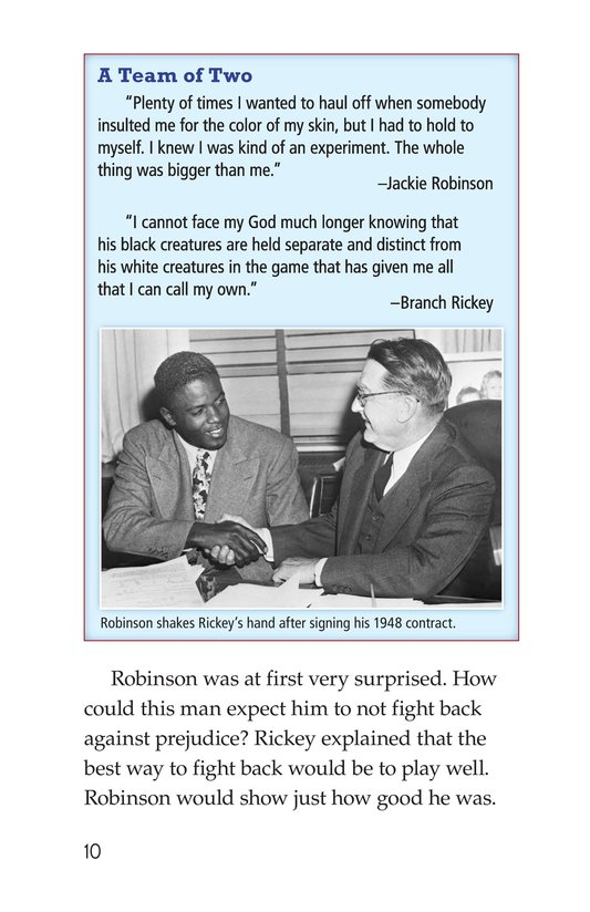 Book Preview For Jackie Robinson Page 10