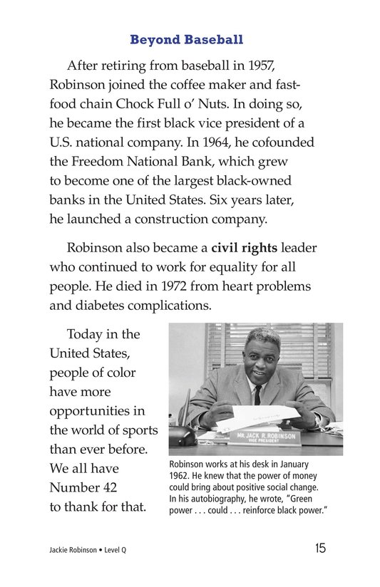 Book Preview For Jackie Robinson Page 15
