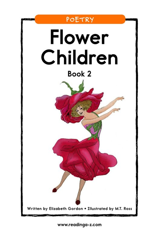 Book Preview For Flower Children Book 2 Page 1