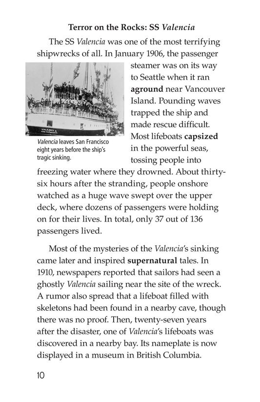 Book Preview For Mysterious Shipwrecks Page 10