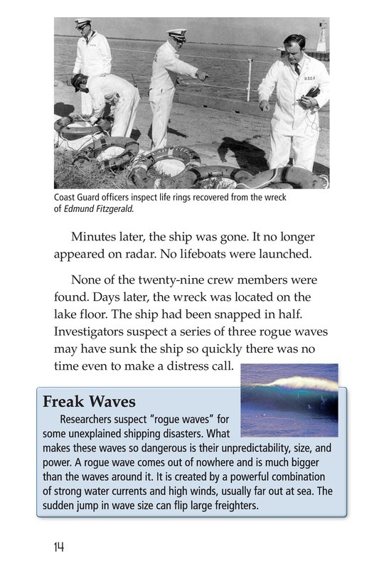Book Preview For Mysterious Shipwrecks Page 14