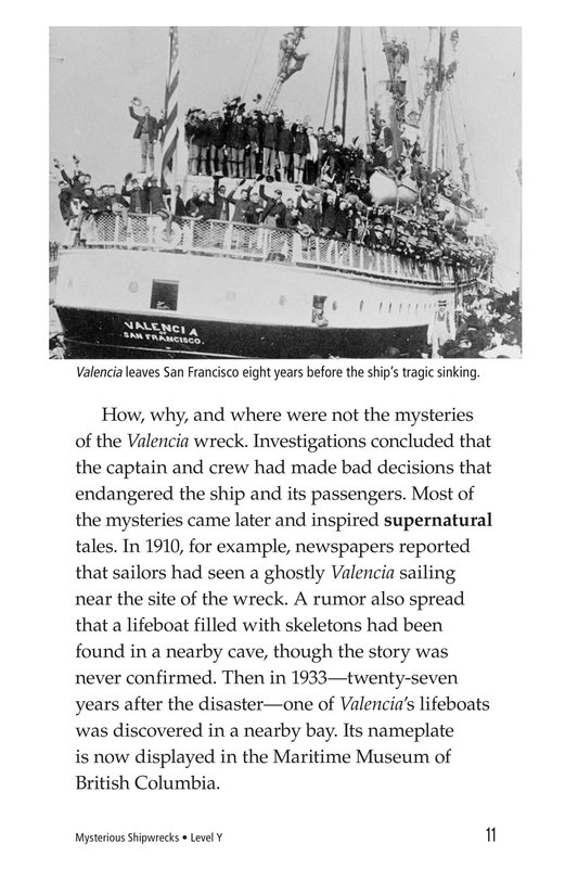 Book Preview For Mysterious Shipwrecks Page 11