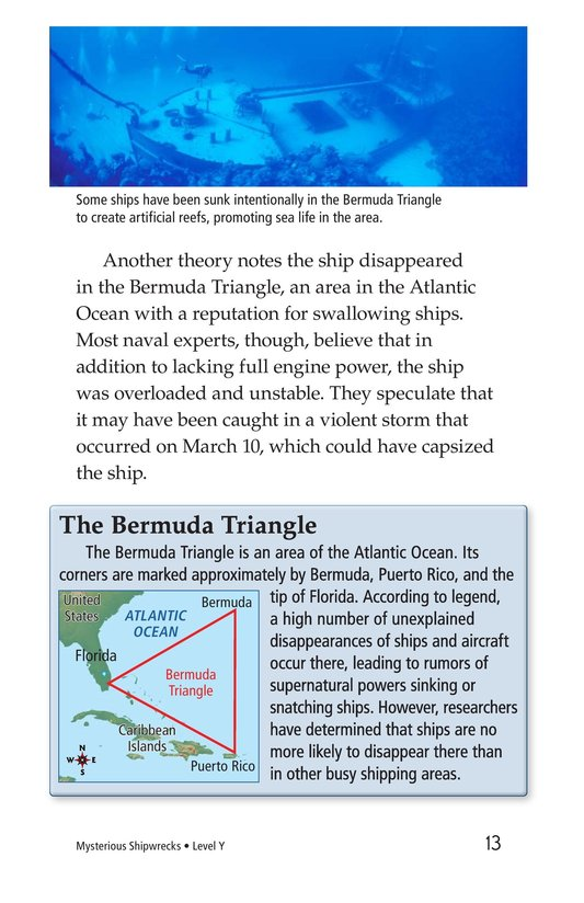 Book Preview For Mysterious Shipwrecks Page 13