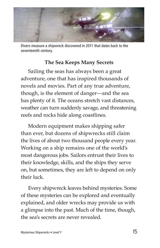 Book Preview For Mysterious Shipwrecks Page 15