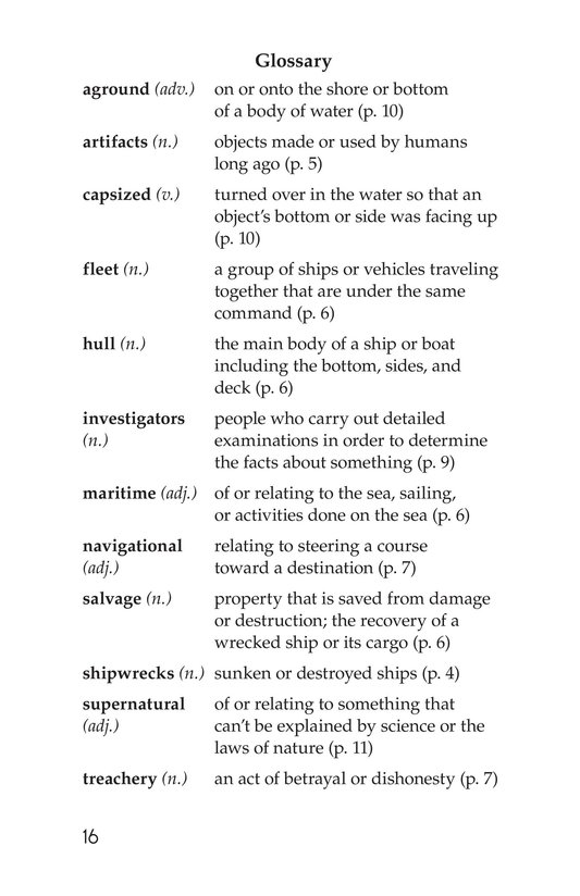 Book Preview For Mysterious Shipwrecks Page 16