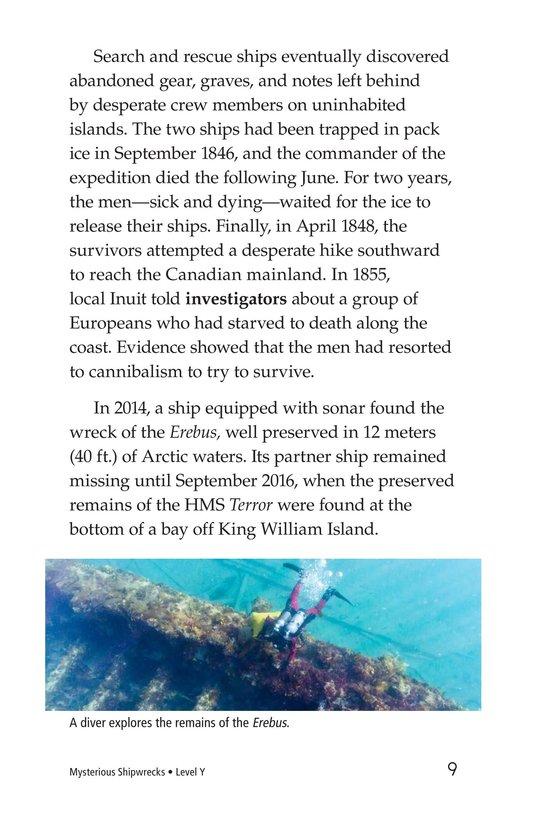 Book Preview For Mysterious Shipwrecks Page 9