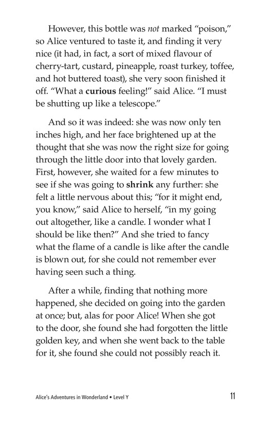 Book Preview For Alice's Adventures in Wonderland (Part 1) Page 11