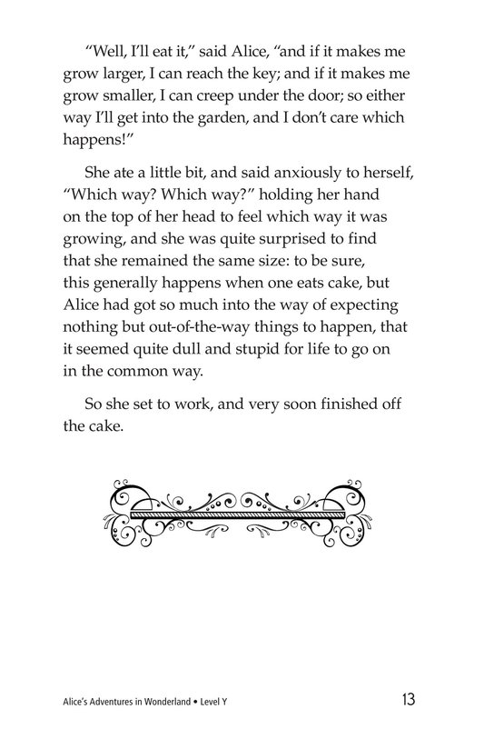 Book Preview For Alice's Adventures in Wonderland (Part 1) Page 13