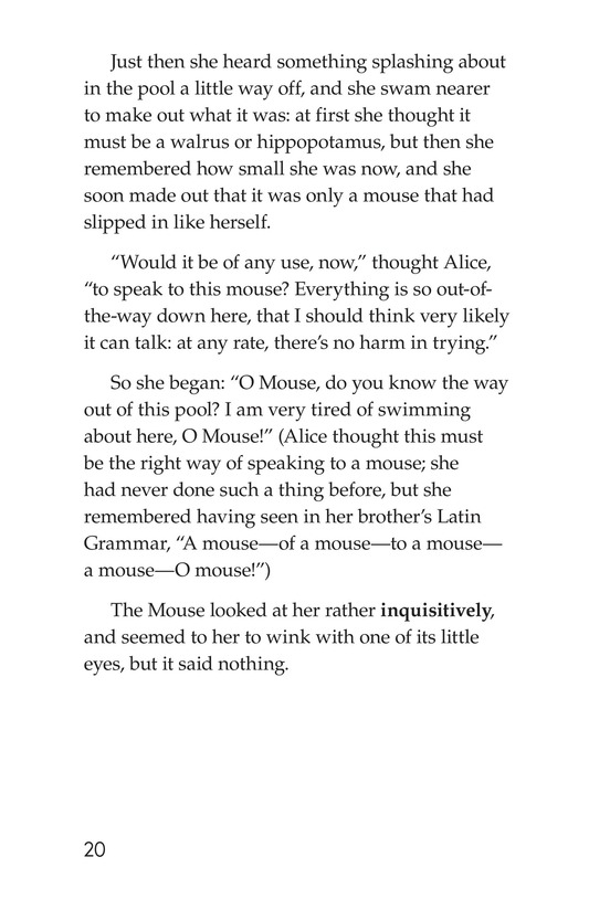 Book Preview For Alice's Adventures in Wonderland (Part 1) Page 20