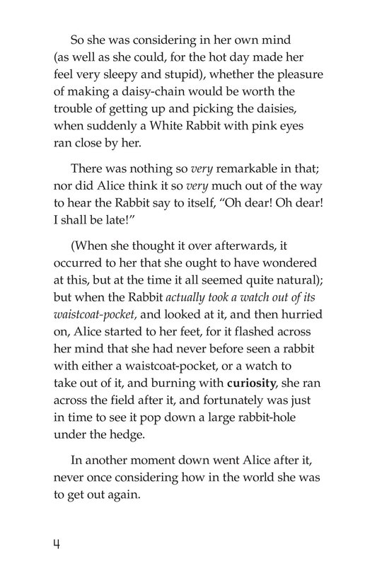 Book Preview For Alice's Adventures in Wonderland (Part 1) Page 4