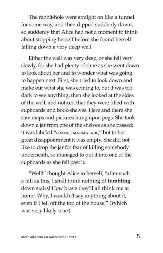 Book Preview For Alice's Adventures in Wonderland (Part 1) Page 5