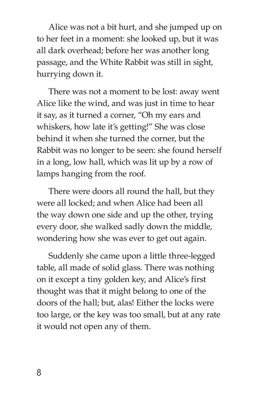 Book Preview For Alice's Adventures in Wonderland (Part 1) Page 8