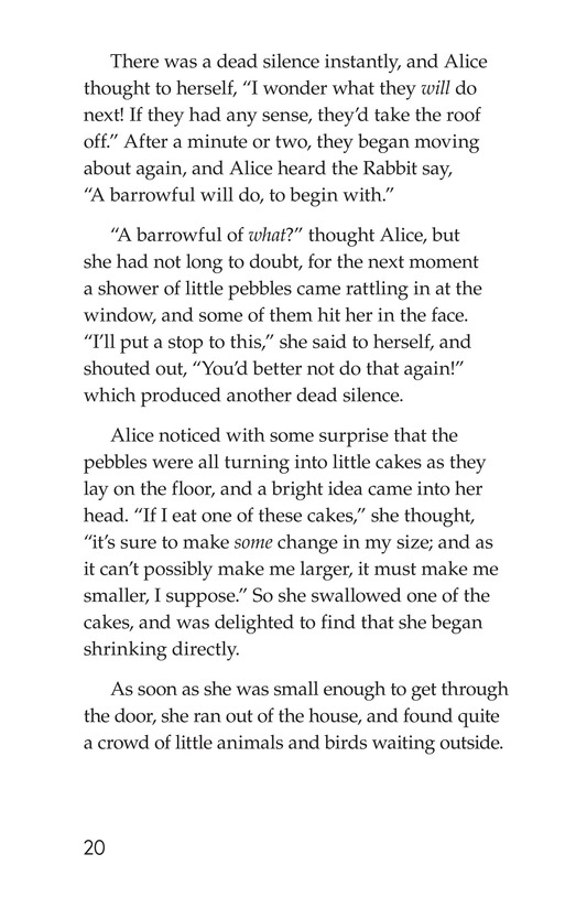 Book Preview For Alice's Adventures in Wonderland (Part 2) Page 20