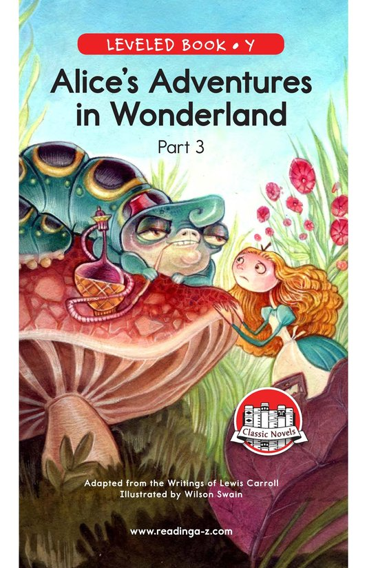 Book Preview For Alice's Adventures in Wonderland (Part 3) Page 0