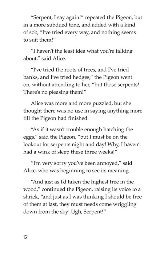 Book Preview For Alice's Adventures in Wonderland (Part 3) Page 12