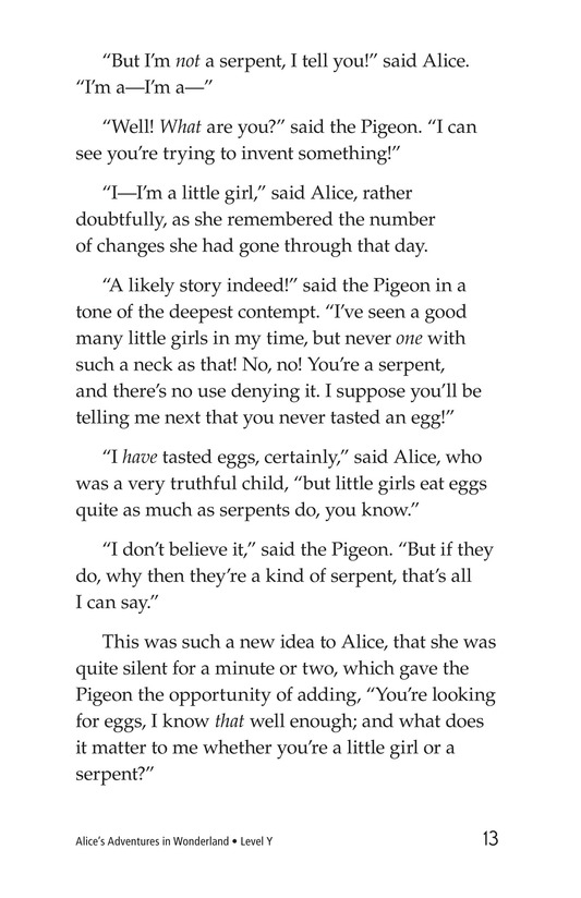 Book Preview For Alice's Adventures in Wonderland (Part 3) Page 13