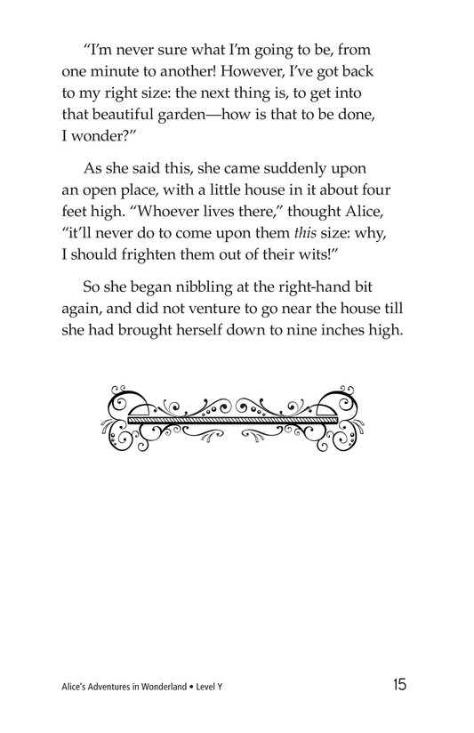 Book Preview For Alice's Adventures in Wonderland (Part 3) Page 15