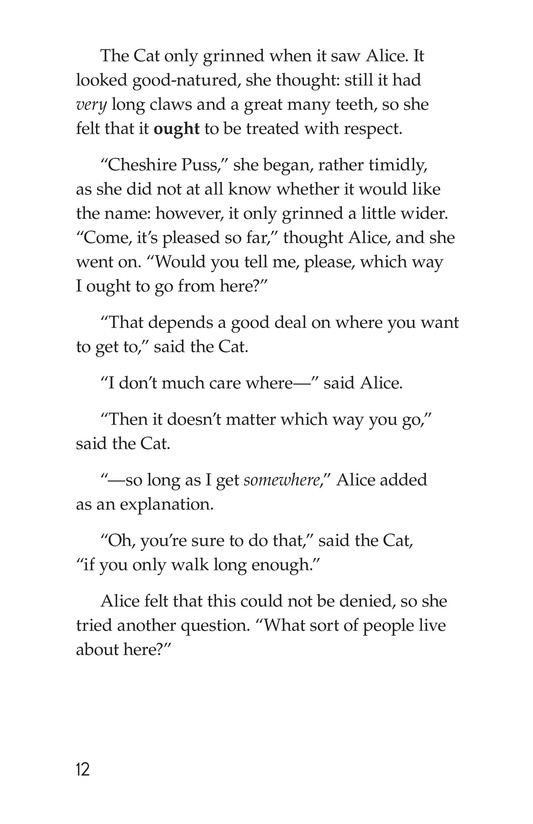 Book Preview For Alice's Adventures in Wonderland (Part 4) Page 12