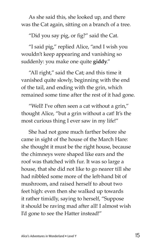 Book Preview For Alice's Adventures in Wonderland (Part 4) Page 15