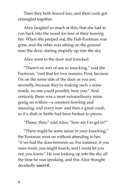 Book Preview For Alice's Adventures in Wonderland (Part 4) Page 4
