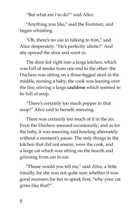 Book Preview For Alice's Adventures in Wonderland (Part 4) Page 6