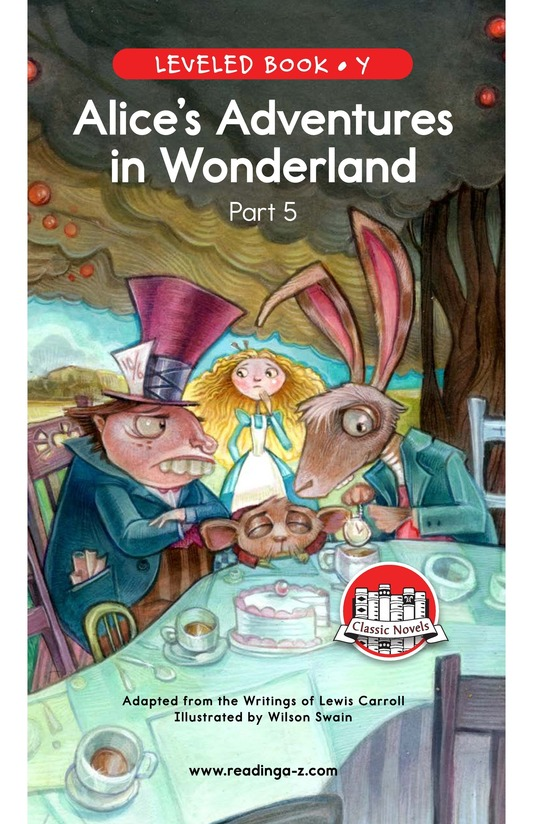 Book Preview For Alice's Adventures in Wonderland (Part 5) Page 0