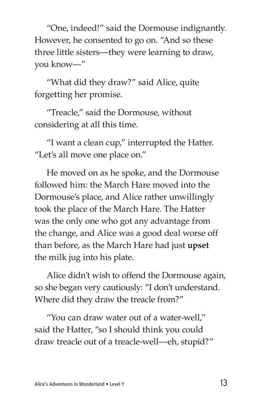 Book Preview For Alice's Adventures in Wonderland (Part 5) Page 13