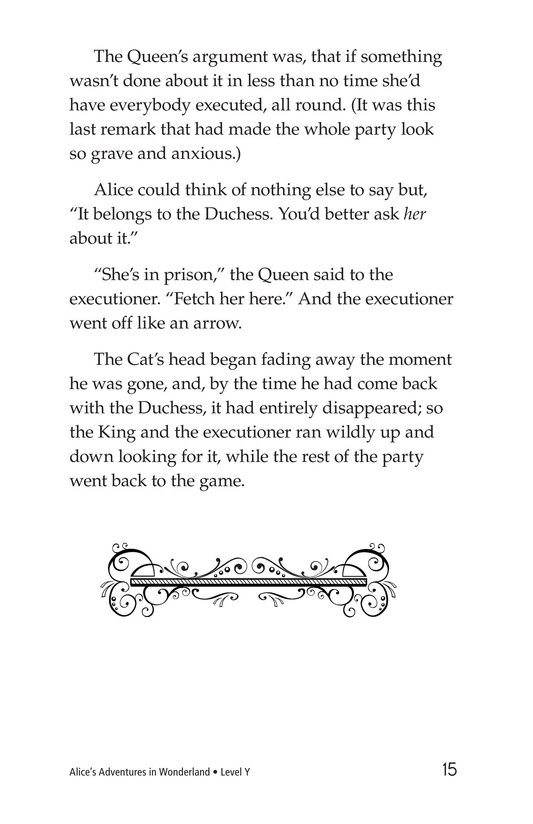 Book Preview For Alice's Adventures in Wonderland (Part 6) Page 15
