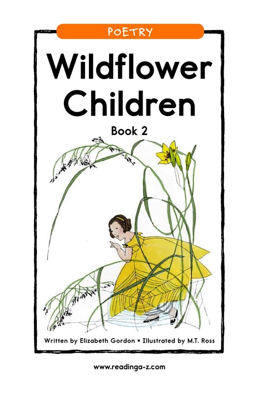 Book Preview For Wildflower Children Book 2 Page 1