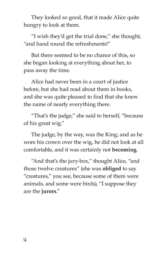 Book Preview For Alice's Adventures in Wonderland (Part 9) Page 4